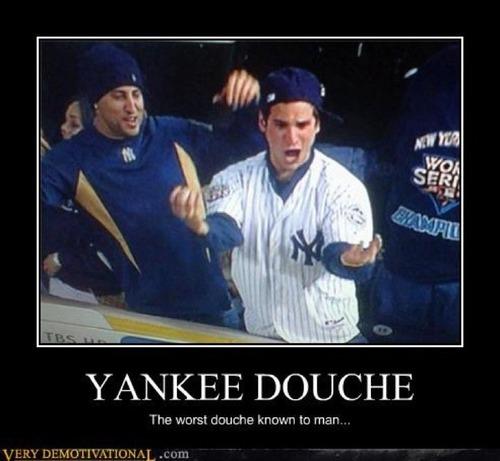 yankee_doucher that's just the way yankee stadium go the unticket
